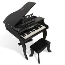 Piano  turbo infantil 30k teclas turbinho (preto) -