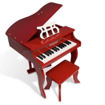 Piano turbo infantil 30k teclas turbinho (vermelho) -