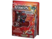Pião com Lançador Battle Strikers Ice Blade - Mega Bloks