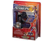 Pião com lançador Kaos Battle Strikers - Mega Bloks