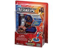 Pião com lançador Rexer Battle Strikers - Mega Bloks