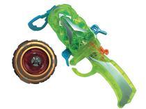 Pião de Batalha Candide Infinity Nado com Lançador - Ultimate Force Deluxe Non-Stop Battle