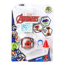 Pião de Batalha - Giro Hero - Disney - Marvel - Avengers - Viúva Negra - DTC -