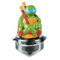 Pião de Batalha - The Ultimate Spin Strikers - Tartarugas Ninja - Leonardo - DTC -