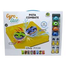 Pião e Pista De Combate Gyro Star Pixar Disney - 4616 DTC -