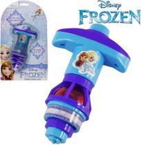 Pião Espiral Frozen c/ Luz - 130217 - Etilux