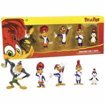 Pica-Pau Brincando Com A Turma Set Com 5 Figuras Original DTC 4229 -