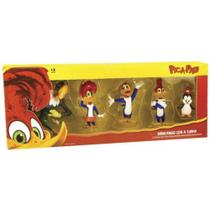 Pica Pau - Kit com 5 bonecos - Dtc -