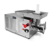 Picador De Carnes Boca 10 Inox - 220 v 0,75 cv - Metvisa  Cod- PCI10220M60N5 -