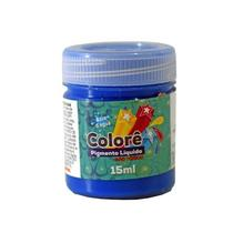 Pigmento Gt Colore Neon Líquido 015 ml  Azul -