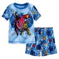 Pijama Curto Original Disney Store Marvel OS VINGADORES -