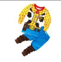 Pijama Fantasia Personagem Infantil Desenho Xerife - Ranna Bebe