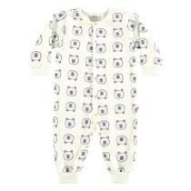 Pijama Infantil Boca Grande Macacão Moletom Feminino -