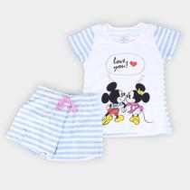 Pijama Infantil Lupo Disney Mickey Minnie -