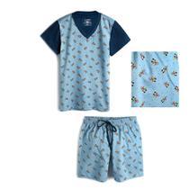Pijama Infantil Lupo Mickey 23182-001 -