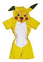 Pijama Infantil Macacão Fantasia Pokemon Pikachu Parmalat - Anjo Da Mamãe