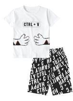 Pijama infantil tigor t. tigre branco -