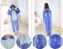 Pijama Kigurumi Cosplay Fantasia Lillo E Stitch Adulto -