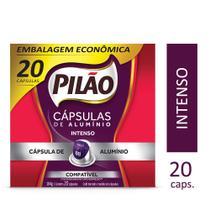 Pilão 20 Cápsulas de Café Intenso compatível com máquin -