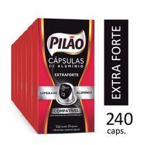 Pilão 240 Cápsulas de Café Extraforte compatível com má -
