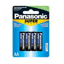 Pilha Aa Com4 Super Hyper Panasonic -