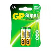 Pilha AA Super Alcalina LR6 GP 1,5V (2 Unidades) - Gp Batteries