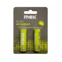 Pilha Alcalina AA Maxprint 756339 - Verde -