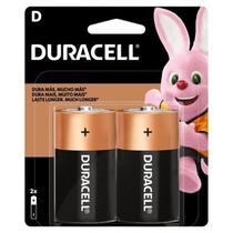 Pilha Alcalina D para Aquecedor com 2 Unidades - Duracell -