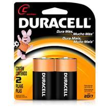 Pilha Alcalina Média C Com 2 Unidades MN-1400  Duracell -