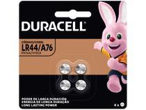 Pilha Alcalina Moeda LR44 / A76 4 Unidades - Duracell