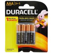 Pilha alcalina palito aaa com 4 unidades - duracell - Panasonic