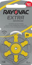 Pilha Auditiva 1.45V Rayovac 10 Extra Advanced com 6 Unidades -