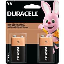 Pilha Bateria 9V Alcalina - Eu Quero Eletro - Duracell -