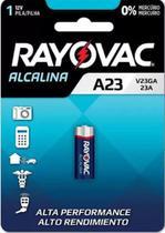 Pilha Bateria Bateria A23 12V Alcalina com 1UN - Rayovac