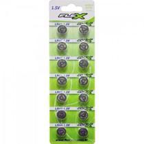 Pilha Bateria Botao LR44 1.5V. FLEX -