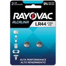 Pilha bateria botao lr44 1,5v. alcalina bl.c/02 - RAYOVAC