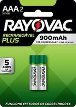 Pilha Bateria Recarregável P/ Panasonic Telefone Sem Fio Aaa - Rayovac