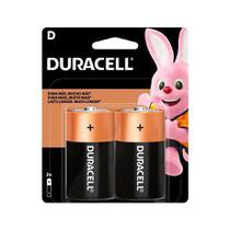 Pilha Duracell Alcalina D-Grande - Embalagem com 2 Unidades -