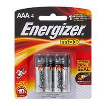 Pilha Energizer Max AAA Alcalina -