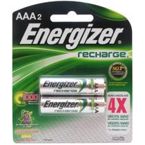Pilha Energizer Recarregavel AAA2 com 4x Mais Duraçao 1,2Vcc -