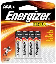 Pilha Max Alc AAA - Energizer