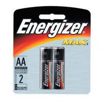 Pilha Max Pequena AA  com 2 unidades  Energizer -