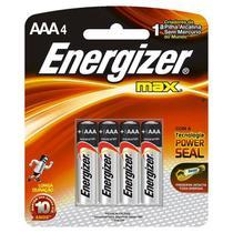 Pilha Palito  AAA  Alcalina   Sm  4 Pc - Energizer -