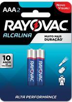 Pilha Palito Alcalina com 2 Unidades Rayovac -