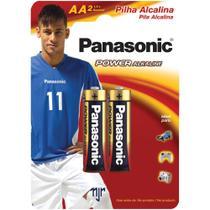 Pilha Peq. Alcalina AA 2 Unidades LR6XAB/2B Panasonic -