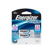Pilha Pequena  AA  Lithium   2 Pc  12406  - Energizer -