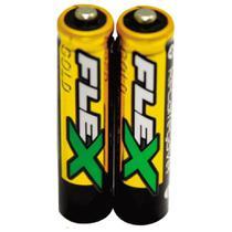 Pilha Recarregavel FLEX FX-AA25LB2 1,2V AA -