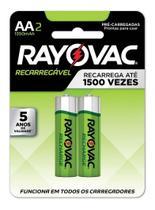 Pilha Recarregável Rayovac Aa P/ Controle X-Box One -