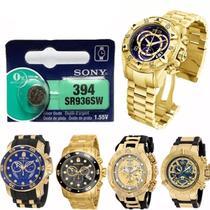 Pilha SR927SW 395 Para Relógio Invicta - Oficina dos relógios