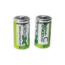 Pilhas Flex Recarregáveis Média C FX-C29B2 -